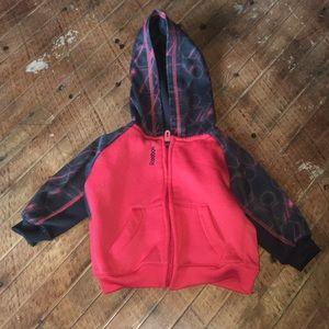 Reebok 3-6 month zipped hoodie